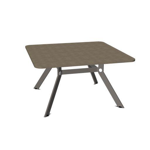 Febru Spider vergadertafel vierkant 140 x 140 cm  351414 1