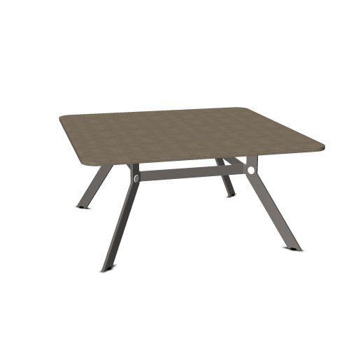 Febru Spider vergadertafel vierkant 160 x 160 cm  351616 1