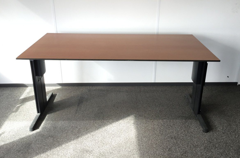 Huismerk Bureautafel 160 x 80   OUTLET-bureautafel-peren 1