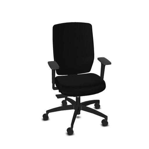 Dauphin Shape Elan bureaustoel  SH 3625 1
