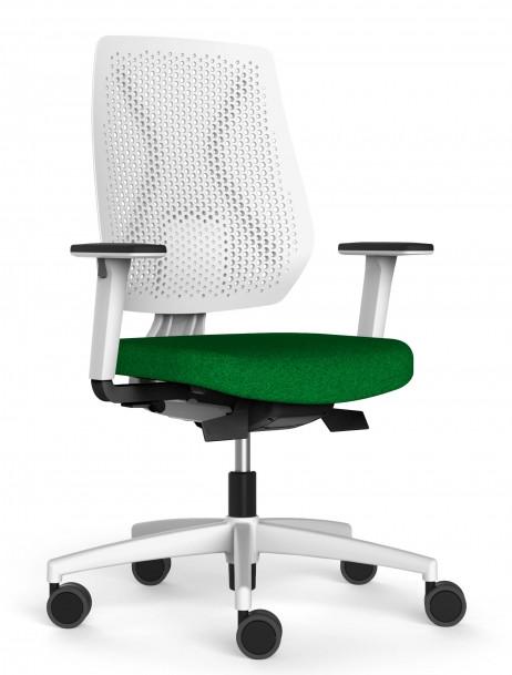 Dauphin Speed-o bureaustoel wit SP76195  SP76195W 1