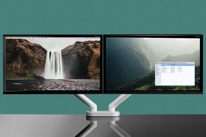 Monitorarm CBS FLO DUO  2 x DYN/013/010 + DYN/013/C38 8
