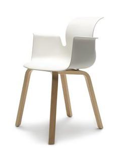 Flötotto Pro Chair houten onderstel armleuningen  30.195.632 1