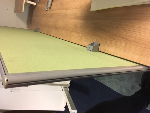 Opzetwand FW12 groen 1800 x 1600 mm  FW12  3