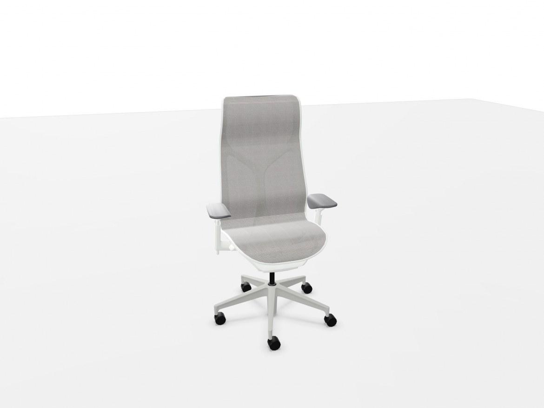 Herman Miller COSM bureaustoel met hoge rug wit  FLC163SFH9898VPRBKS84503-SLA 1