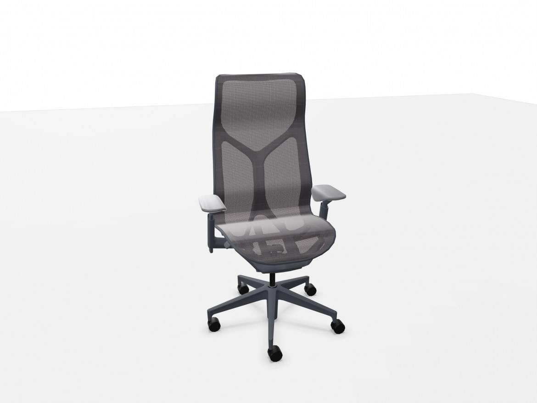 Herman Miller COSM bureaustoel met hoge rug grafiet  FLC163SFHG1G1G1BKS84501-SLA 1
