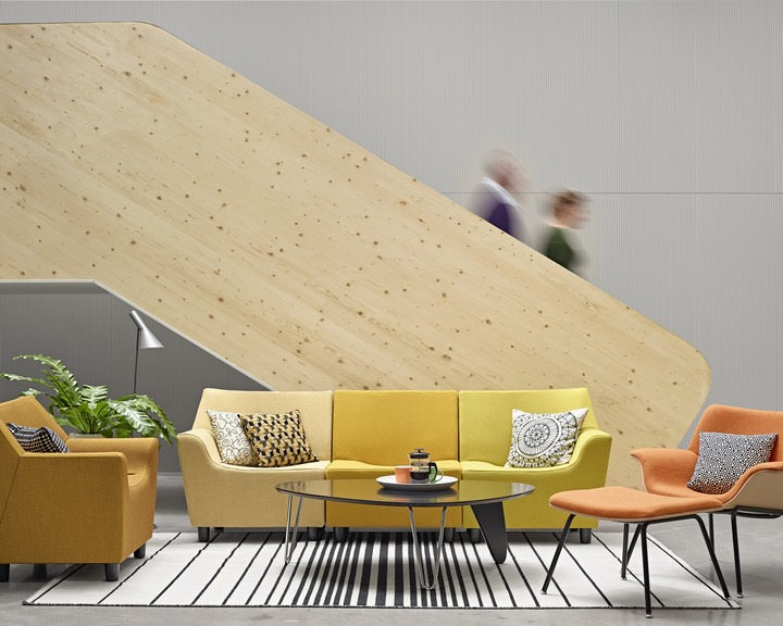 Herman Miller Swoop loungestoel  OAW100 5