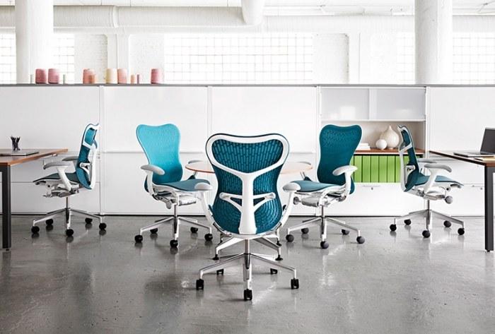 Herman Miller Mirra 2 white bureaustoel MRF133  MRF133AWAF N2 65 BB 98 8M10 2