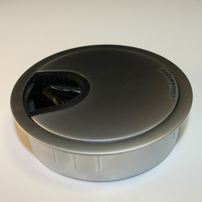 Kabeldoorvoer metaal Ø 80 mm aluminium  423007.088000022.906 2