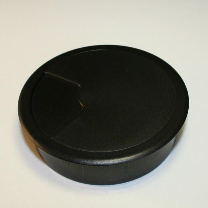 Kabeldoorvoer 3 delig Ø 80 mm zwart  423001.087800022.000 2