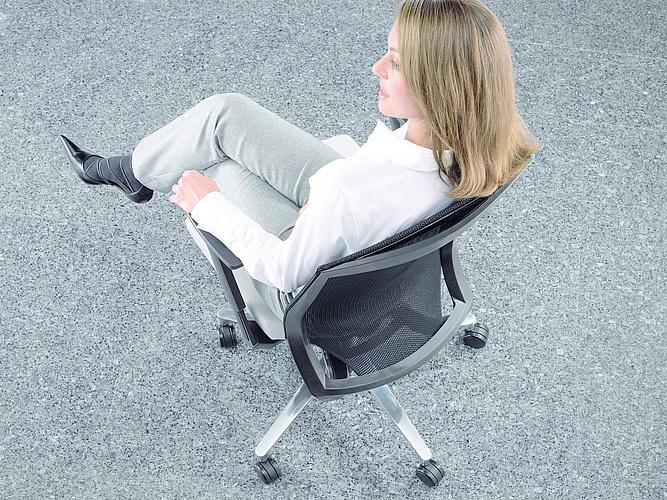 Klöber Cato Plus Netz bureaustoel  cpn98 2