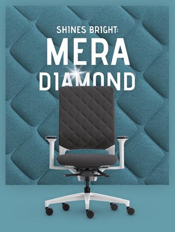 Klöber Mera Diamond bureaustoel  D1amond 1