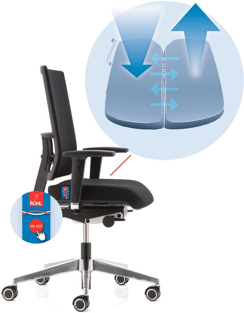 Köhl Anteo Basic 5030-N5 Airseat bureaustoel  ANTEO®   5030-N5 2