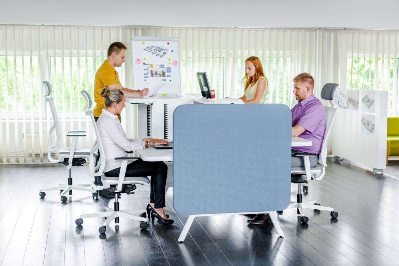 Mikomax Stand Up bureau Duo hoogte-verstelbaar H1250  STA-BS-203 4