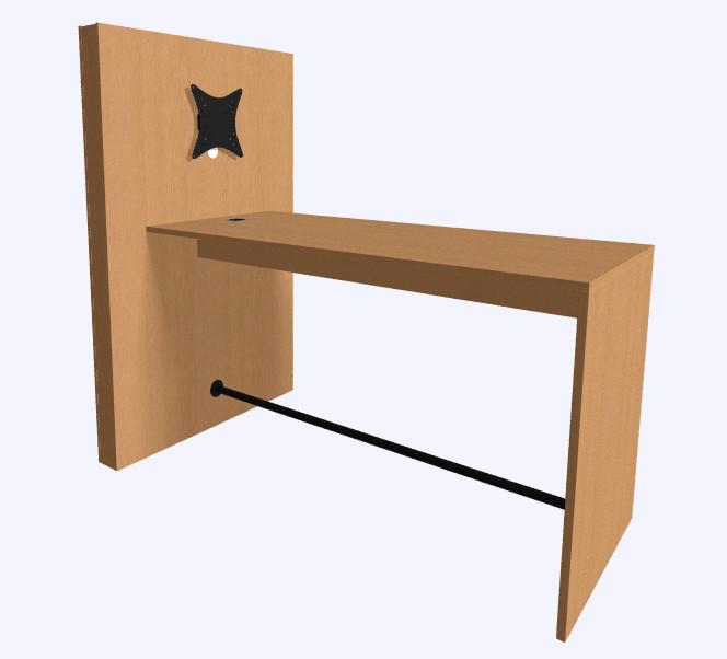 Narbutas Media tafel  PCMM122-M1M1A-EU 2