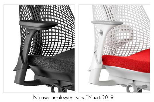 Herman Miller Sayl bureaustoel  AS1ED32HA-N2-BK-1D04 3