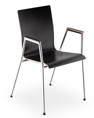 Nowy Styl Cadeira vergaderstoel  4L-PLYWOOD 1