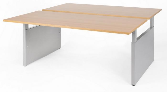 NPO Pro-Fit duo werkplek slingerverstelling 160 x 80 cm  PFD1608HI 2