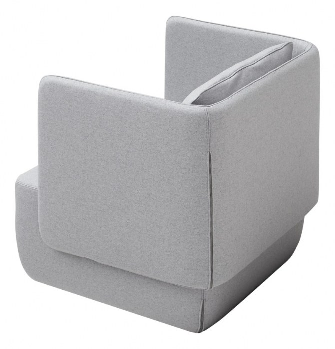 Softline OPERA lounge stoel  2-425 3