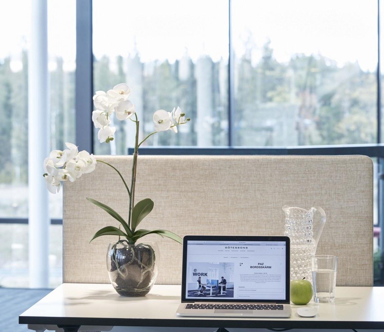 Götessons Orchidee incl glazen pot H650mm kunstplant  160010 1