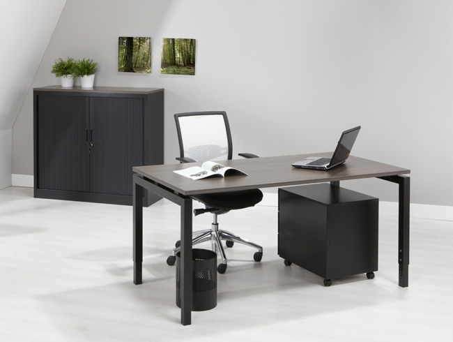 Orange Office Bureautafel Quartet 120 x 80 cm  OO 4Q128 3