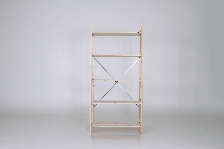 QuickRack Eurorek houten stelling basis 210 cm hoogte   QREB21.10.04.5 1