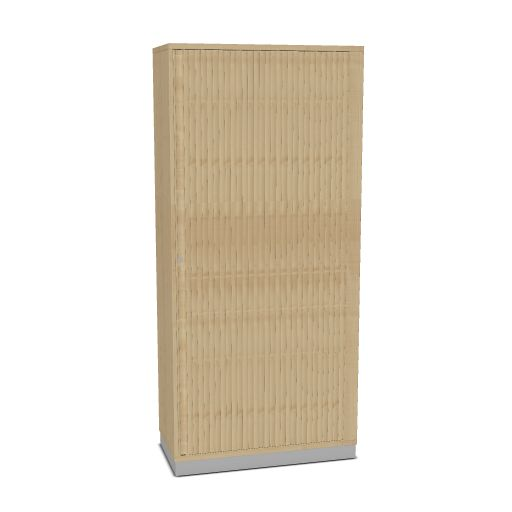 OKA houten jalouziedeurkast 197,1 x 90 x 45 cm  SBOBI23 1