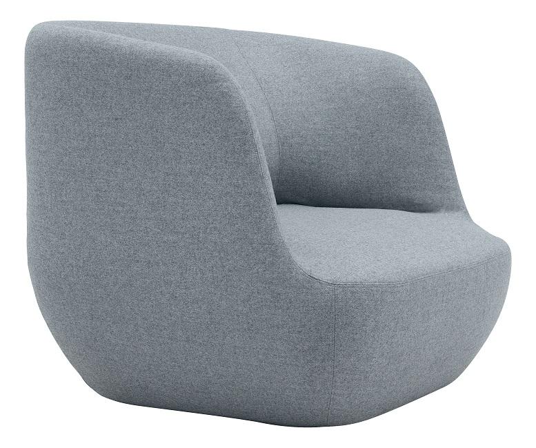Softline Clay loungestoel   2-481 2