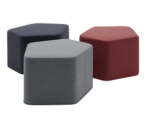 Softline Lake pouf  2-456 4