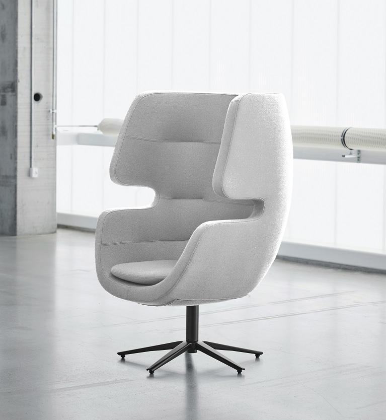Softline MOAI swivel loungestoel   2-448 1
