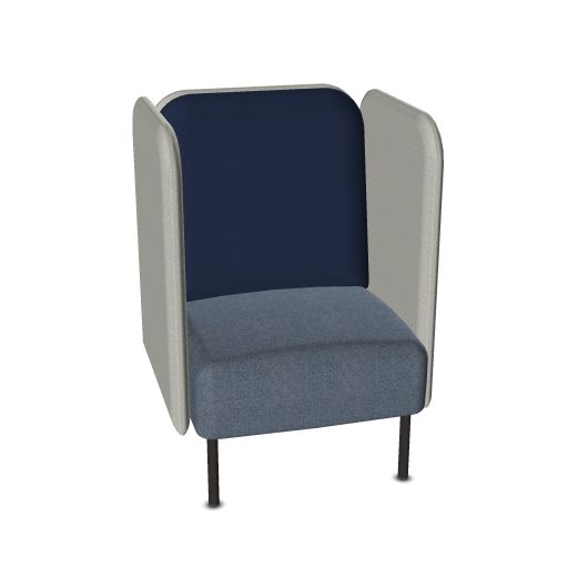 Softrend August loungestoel  1-S/ H1 1