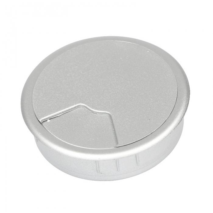Kabeldoorvoer 3 delig Ø 60 mm zilver  423001.067600022.906 1