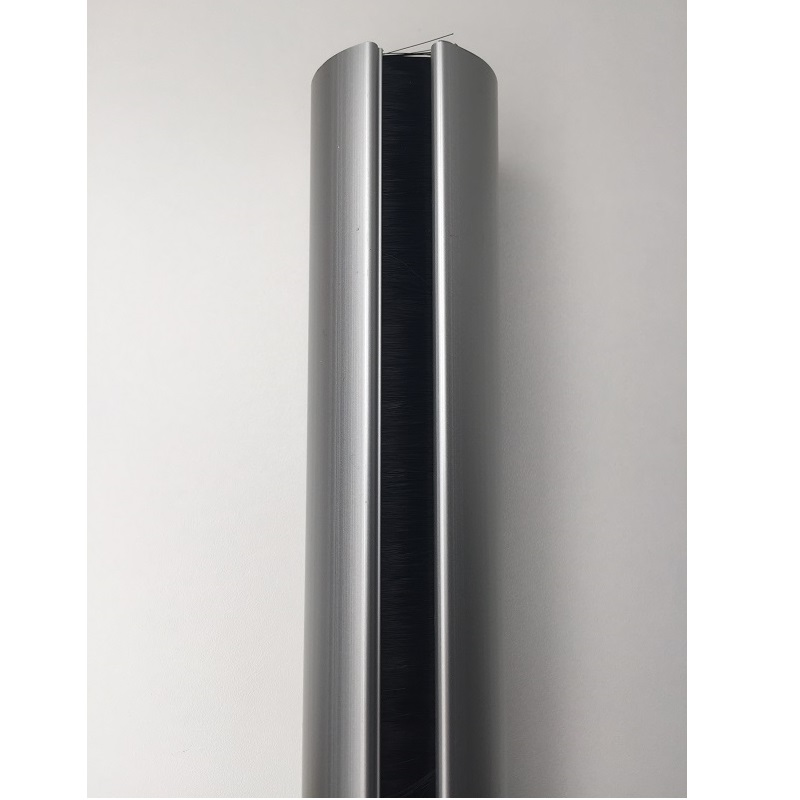Aluminium buiszuil van vloer tot plafond wit   470550.000000000.001 4