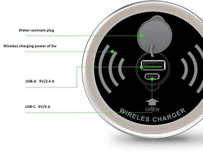 Draadloze oplader inclusief USB-A en USB-C charger  4735012.00000000.000 2