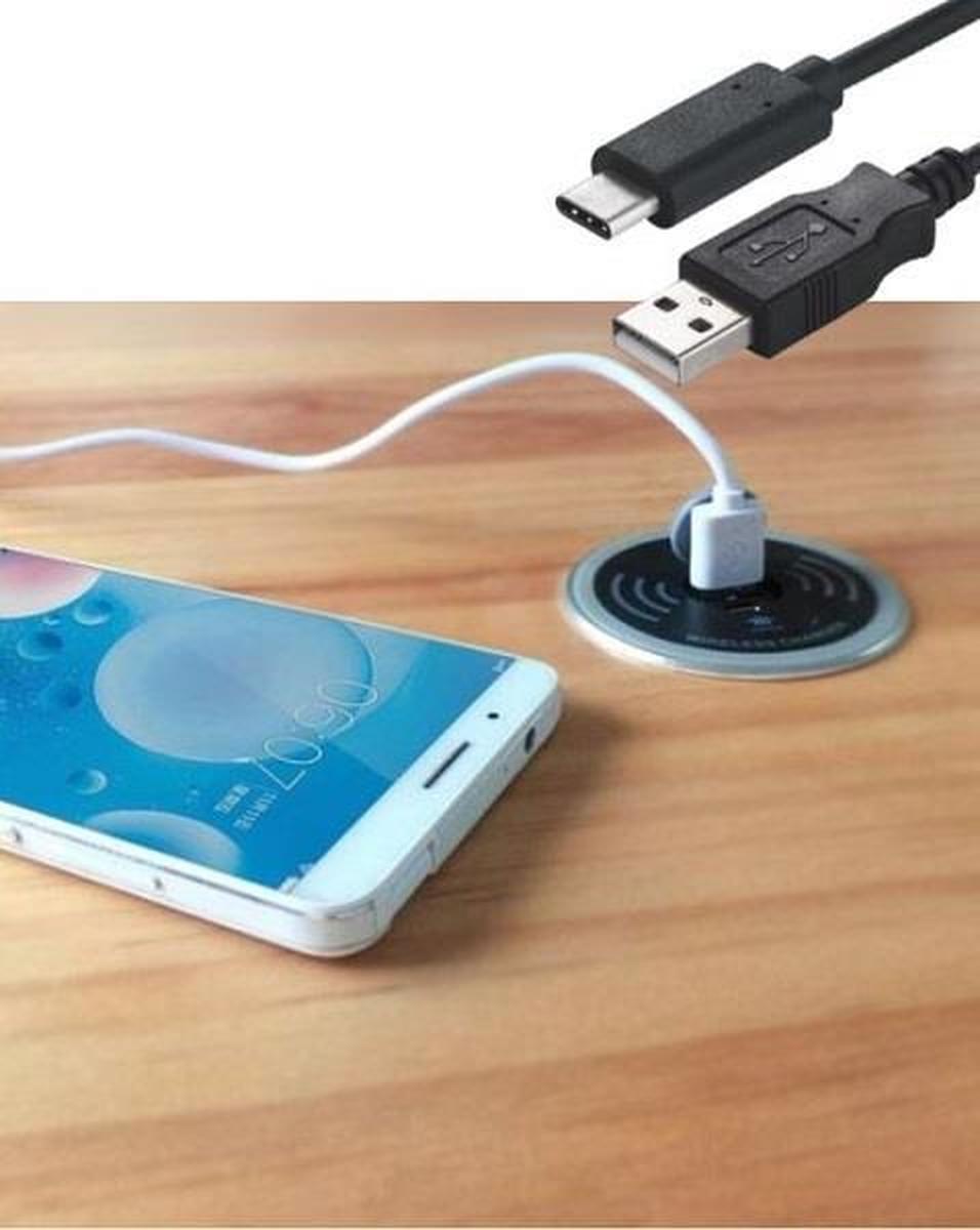 Draadloze oplader inclusief USB-A en USB-C charger  4735012.00000000.000 4