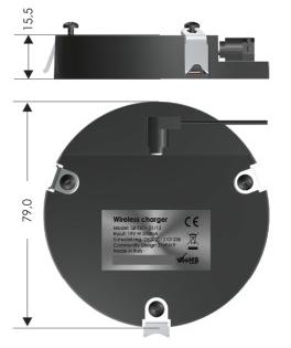 QInside draadloze oplader (onzichtbaar monteren)  4735000.00000000.000 3