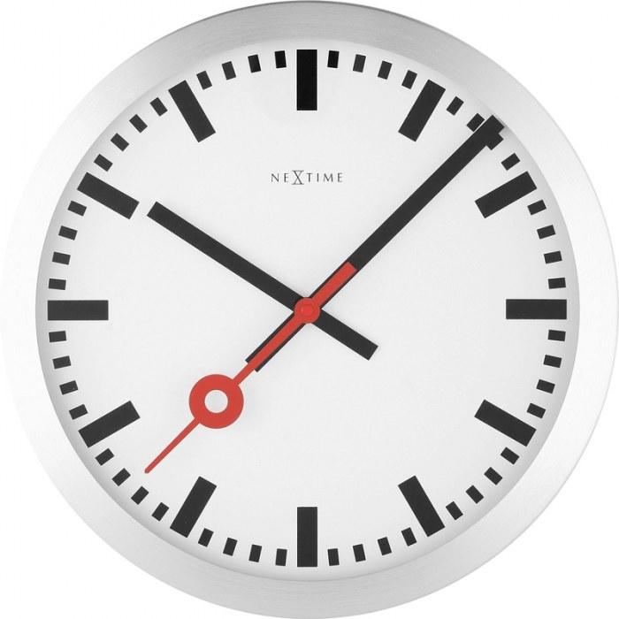 Thovip klok station stripes 35 cm klokken - Klok cm ...
