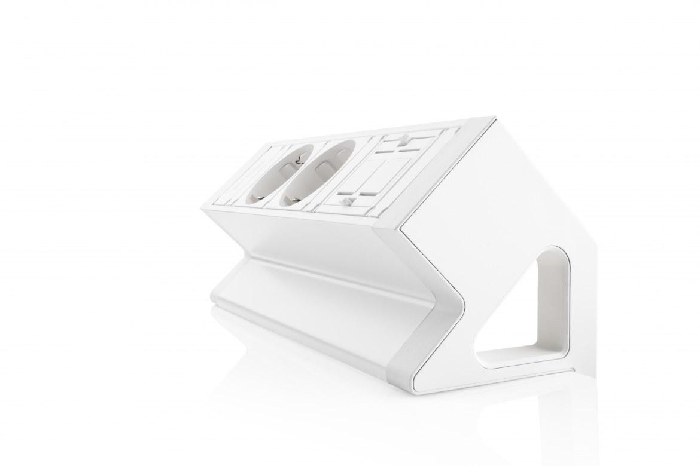 Thovip Power Desk Up 2.0 - 2x Stroom + 1 x lege module   4730014.02010000 4