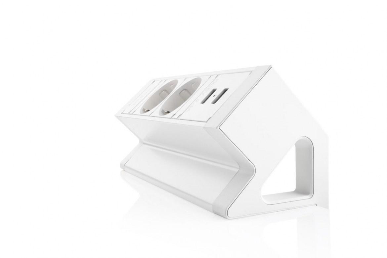 Thovip Power Desk Up 2.0 - 2x Stroom + 2x USB charger  4730014.02020000 4