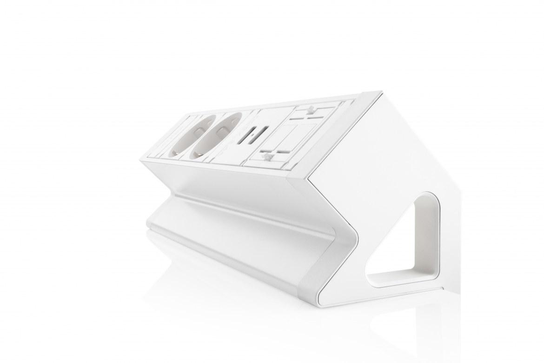 Thovip Power Desk Up 2x Stroom + 2x USB charger + 1 x lege module  4730014.02020100 4