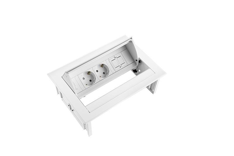 Thovip Power Desk IN 2 x stroom + 1 x leeg  4730067.02010000 5