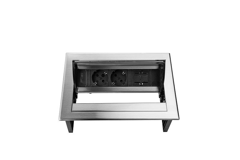 Thovip Power Desk IN 2 x stroom + 1 x leeg  4730067.02010000 2
