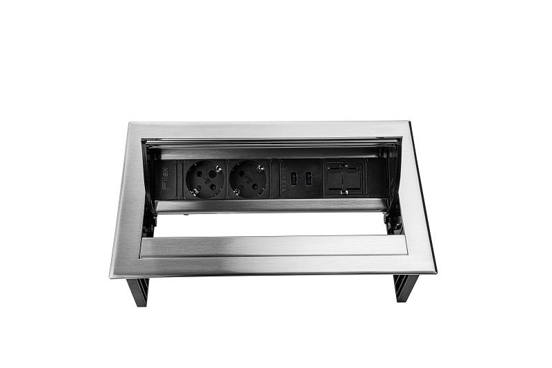 Thovip Power Desk IN 2 x stroom + 2 x USB charger + 1 x leeg   4730067.02020100 5