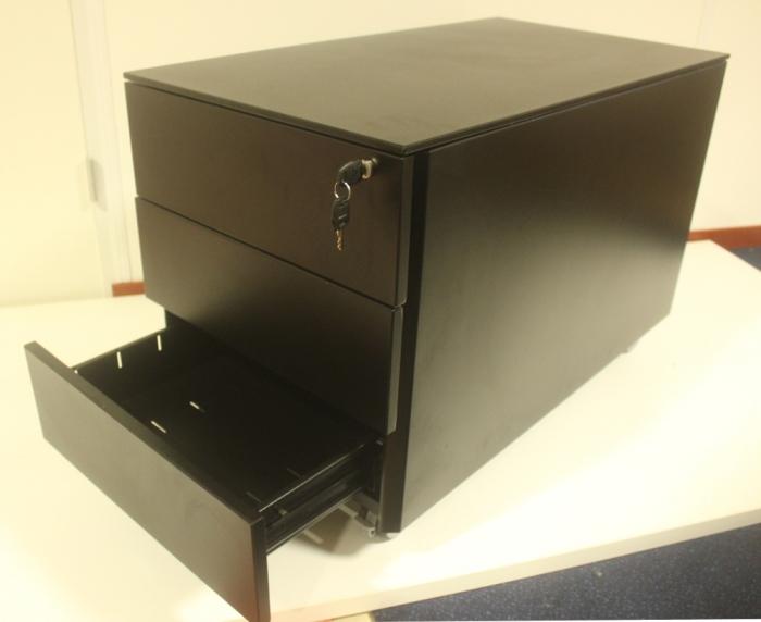 Triumph Ladenblok zwart 3 laden 77cm [29]  TRI-LB-03-Z 2