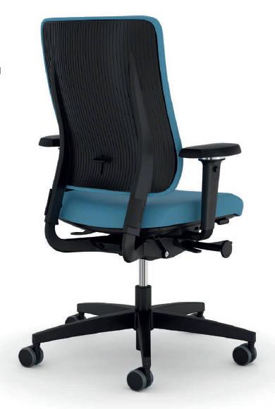 Viasit Drumback bureaustoel zwart  480.1002 2
