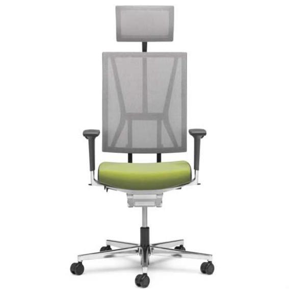 Viasit Bureaustoel Scope met hoofdsteun  300.5000 +NS300 1