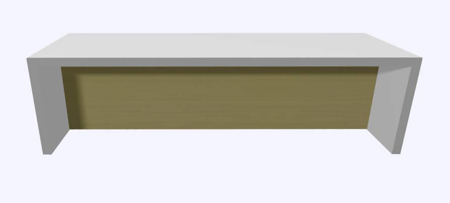 Werner Works K-Modul Sit 160 x 60 cm  KMSI-160 2
