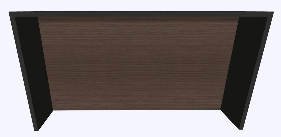 Werner Works K-Modul Stand met tussenwand 200 x 60 cm  KMS-200 1