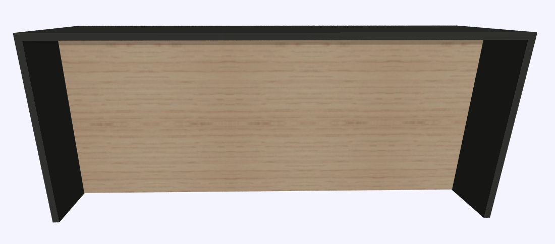 Werner Works K-Modul Stand met tussenwand 260 x 80 cm  KMS-260 1