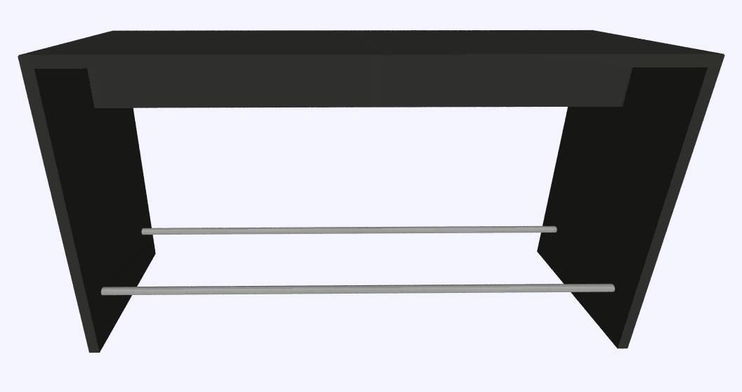 Werner Works K-Modul Stand voetensteun 200 x 60 cm   1